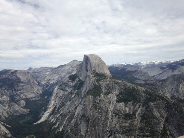 yosemite, view of half dome